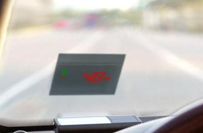 GlobalTop HD100 GPS Speed Meter HUD scores first review