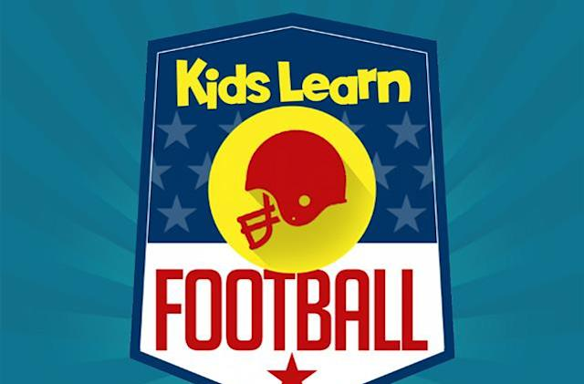 Teach your youngsters more about football with Kids Learn Football