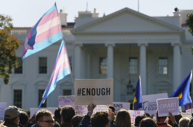 Apple, Google and others denounce Trump's transgender policy