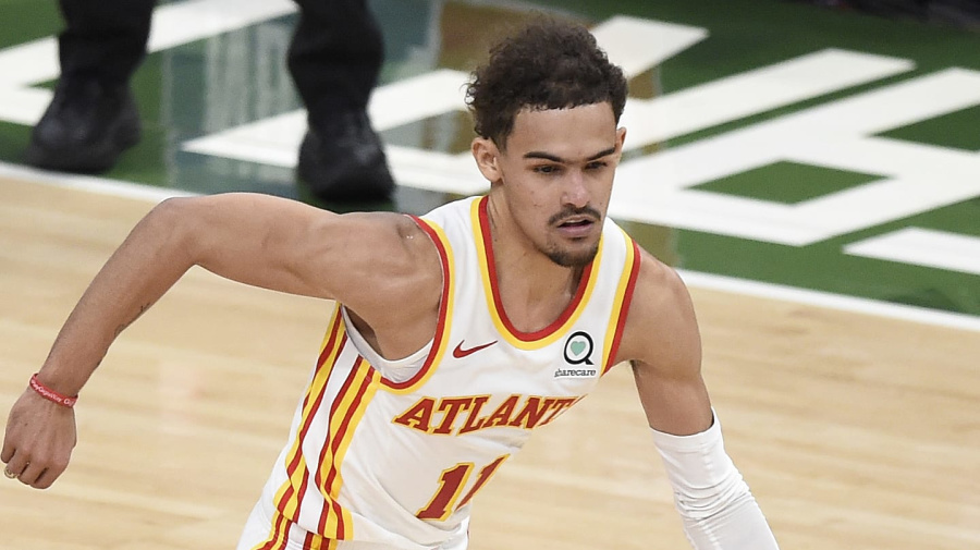 Young torches Bucks as Hawks steal Game 1