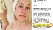 Woman's naked selfie is candid reminder that 'beauty is about what you see'