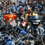 Coronavirus fears as 250,000 bikers pour into South Dakota city for 10-day event