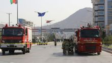 Loud explosion, gunfire rock downtown Kabul in attack near ministry