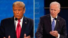 Column: Sleepy Joe? In final debate, Biden navigated a minefield of Trump disruptions