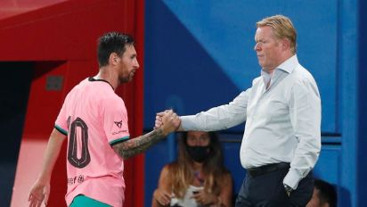 Barca not among Champions League favourites, says Koeman