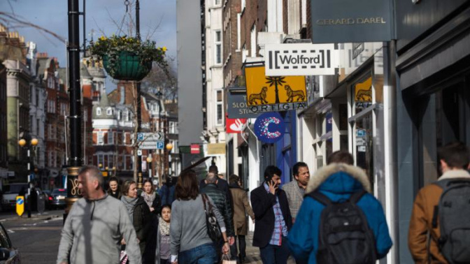 High street sales slow as UK households 'feel the pinch' of Brexit-fuelled inflation