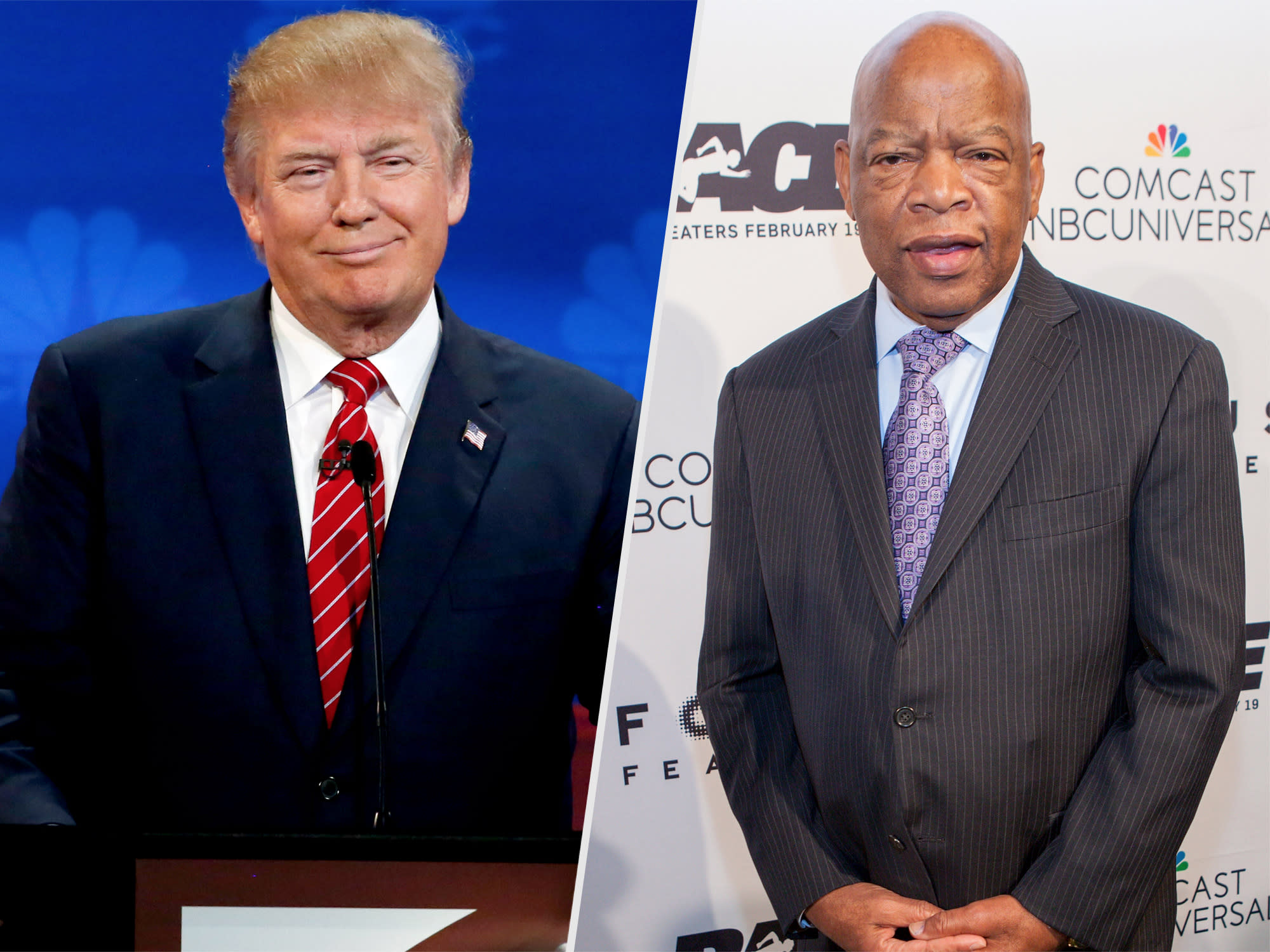 'Cowardly': Donald Trump Faces Backlash for Attacking Legendary Civil Rights Leader John Lewis