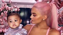 Kylie and Stormi Just Wore Matching Bathing Suits on Vacay and the Pics Are Too Much