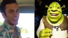 Se vuelve viral, sin querer, por imitar a la perfección una escena de 'Shrek'
