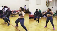 Dancer's video of her 'jiggle' goes viral for her moves and body positivity