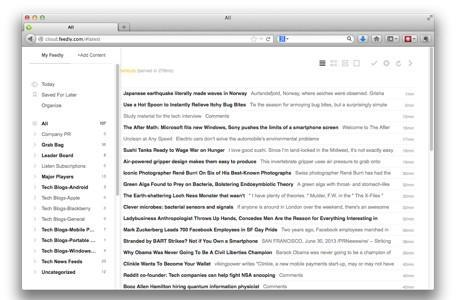 RSS Reader Roundup: Feedly leads the pack with web, mobile and third-party apps