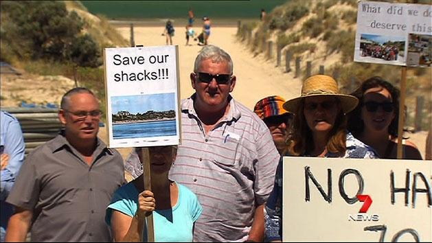 Shack owners fear lease leap