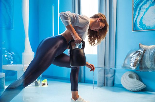 JAXJOX's smart kettlebell is a gateway to its subscription classes