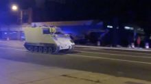 Soldier steals armored vehicle, takes it on two-hour ride in Virginia: police