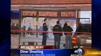 Diner shooting kills 2, wounds 1
