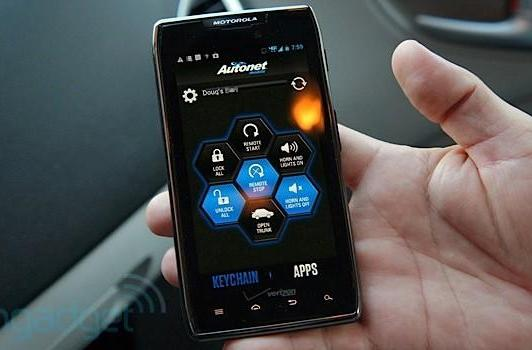 Autonet Mobile puts a new twist on the car key (video)
