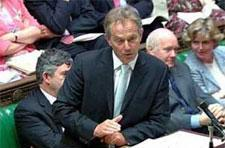 Tony Blair comments on Church of England's Sony issue