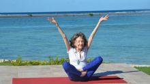 """Älteste Yogalehrerin der Welt: """"Ich habe nicht vor, jemals erwachsen zu werden"""""""