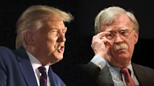 John Bolton likens Trump to Elizabeth Warren following 'incoherent' remarks on military