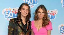 Elizabeth Hurley reacts to son Damian 'callously' being cut out of family fortune due to being born out of wedlock