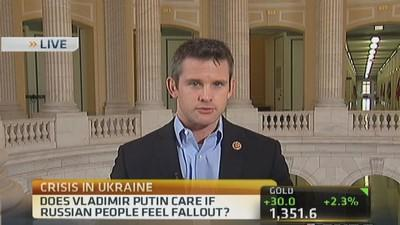 Going to be long fight with Russia: Rep. Kinzinger