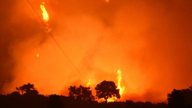 Californie: la progression des incendies ralentie
