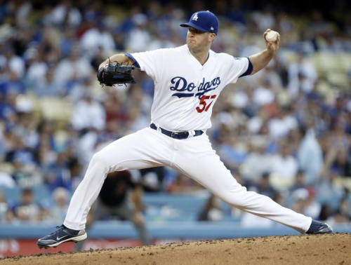 Alex Wood has been one of the best starters in baseball this year. (AP Photo)