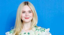 Elle Fanning's Eczema 'Eyeshadow' Selfie Is The Most Relatable Celebrity Skincare Moment