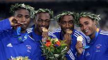 On this day in 2004: Great Britain strike Olympic gold in men's 4x100m relay