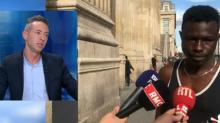 Des élus parisiens réclament la régularisation de Mamoudou Gassama, qui a sauvé un enfant
