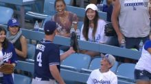 Young Dodgers fan has best reaction to Wil Myers stealing his foul ball