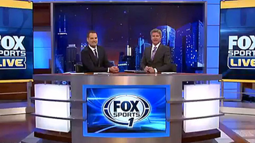 Jay Onrait and Dan O'Toole on Fox Sports 1