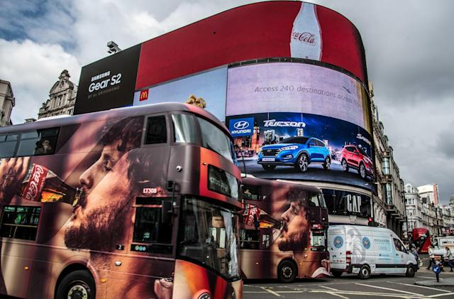 London's iconic Piccadilly Circus will go dark next month
