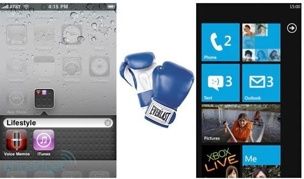 iPhone OS 4 versus Windows Phone 7: the tale of the tape