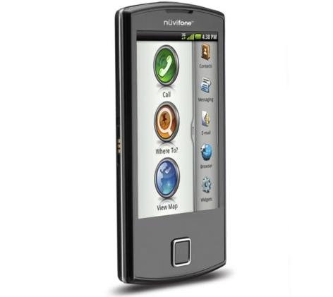 Garmin-Asus nuvifone A50 runs Android, knows where you are turn-by-turn