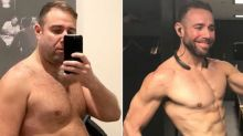 Man loses 70 pounds after his poker buddies bet him $1M that he couldn't
