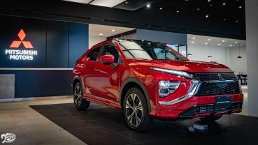 新年式 Mitsubishi Eclipse Cross 格局放大介面中文化 雙車型 106.9 萬起