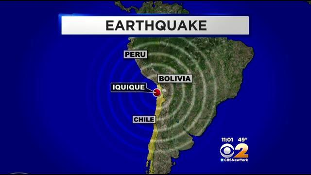 Powerful Earthquake Sets Off Tsunami Concerns In South America