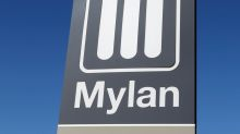 Mylan shares slide after warning of hit to revenue