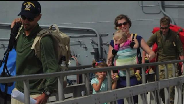 Family Safe On North Island After Rescue At Sea