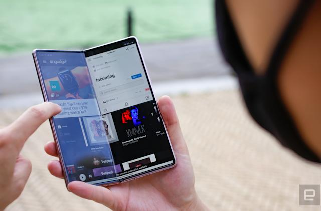 Samsung Galaxy Z Fold 2 review: Waiting on the world to change