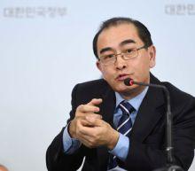 Elite North Korean defector says more diplomats waiting to defect to Seoul: Yonhap