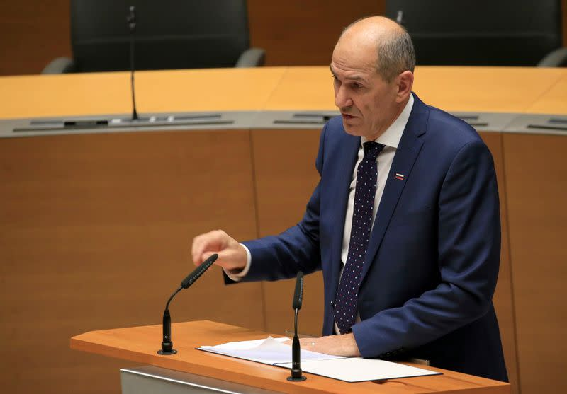 Slovenia's ruling coalition agrees cooperation with opposition
