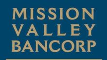 Mission Valley Bancorp Reports Third Quarter 2020 Results