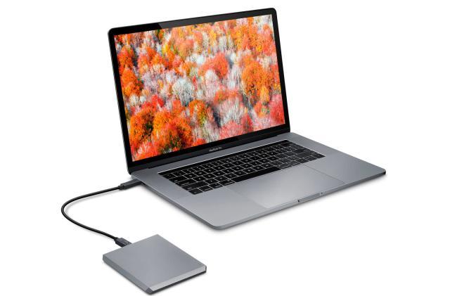 LaCie's chiseled 5TB USB drive aims to make storage stylish