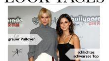 Look des Tages: Lena Gercke und Lena Meyer-Landrut als sexy Doppel