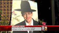 Israeli Police: Body Found In Jerusalem Forest Where NJ Student Went Missing