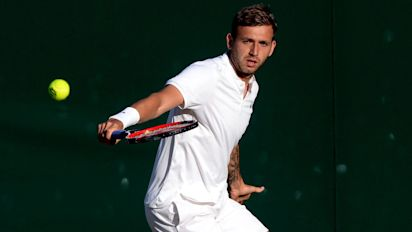 Dan Evans will pay a heavy penance but tennis needs a working-class hero