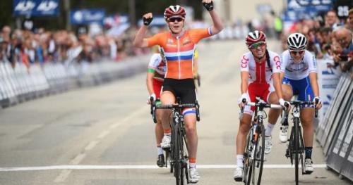 Cyclisme - Flèche (F) - Flèche Wallonne : Van der Breggen s'impose