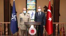 Mediterania Genting, Komandan NATO Datangi Jenderal Perang Turki